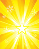 super specjalny nowa sunburst Obrazy Stock