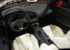 Super Sport Car Interior Stock Photography