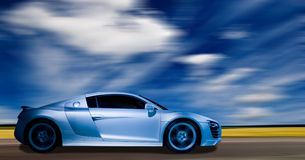 Super sports car Royalty Free Stock Photo