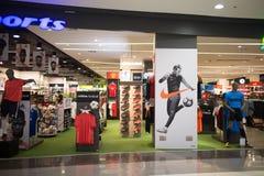 Super Sportwinkel binnen Centraal Festival Chiangmai stock afbeelding