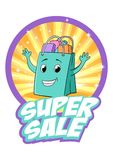 Super sprzedaż Zdjęcia Stock