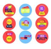 Super sprzedaż, ten weekendowy specjalnej oferty sztandar wektor Obrazy Royalty Free