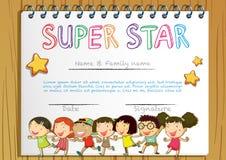 kids awards template
