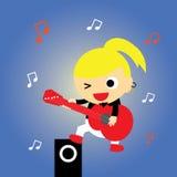 Super star  cartoon Royalty Free Stock Photos