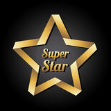 Super star Royalty Free Stock Image