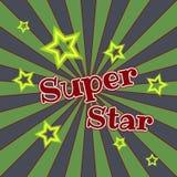 Super star vector lettering illustration. Handwritten modern brush calligraphy for designe vector illustration