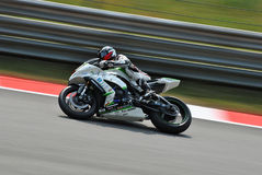 Super-stock Kawasaki Monza Image libre de droits