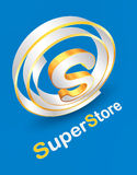 Super Store company logo design Royalty Free Stock Photo