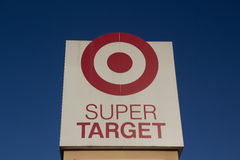 Super Target Royalty Free Stock Photography