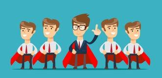 Super team of business. royalty free illustration