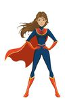Super teen girls. It's suitable for web beauty teen girls, or life style, product icon, industri etc Stock Image