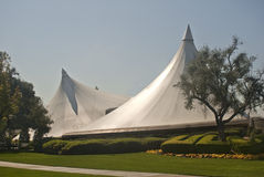 Super Tents at La Verne University Stock Image