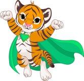 Super Tiger royalty free illustration