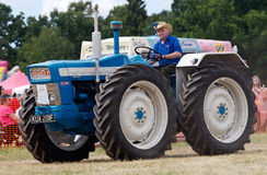 Super 6 tractor Royalty Free Stock Photography