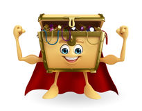 Super treasure box Royalty Free Stock Images