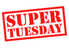 SUPER TUESDAY Stock Photography