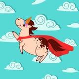 Super unicorn Royalty Free Stock Photo