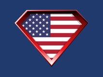 Super USA royalty free stock image