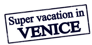 Super vacation in Venice Stock Images