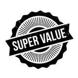 Super Value rubber stamp Stock Image