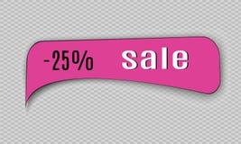 Super Verkoopdocument banner Concept voor marketing en elektronische handel Vector illustratie Royalty-vrije Stock Foto