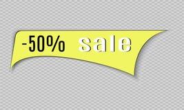 Super Verkoopdocument banner Concept voor marketing en elektronische handel Vector illustratie Royalty-vrije Stock Afbeelding