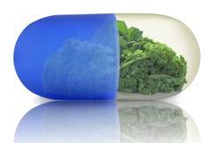 Super vitamin pill concept Stock Photos
