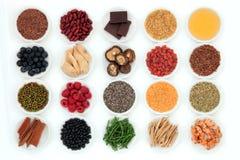 Super Voedsel royalty-vrije stock fotografie
