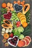 Super Voedsel voor een Hoog Vezeldieet Royalty-vrije Stock Afbeelding