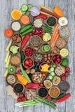 Super Voedsel voor het Gezonde Eten royalty-vrije stock fotografie