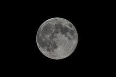 Super Volle maan Royalty-vrije Stock Afbeeldingen