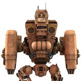 Super war machine. The super war machine. This cyber machine will put some fun in yours creations Royalty Free Stock Photography