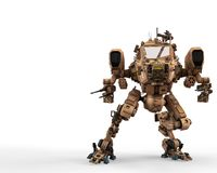 Super war machine. The super war machine. This cyber machine will put some fun in yours creations Royalty Free Stock Images