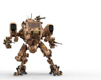 Super war machine. The super war machine. This cyber machine will put some fun in yours creations stock illustration