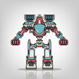 Super War Robot Royalty Free Stock Photo