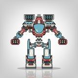 Super War Robot. The Super War Robot Illustration Royalty Free Stock Photo