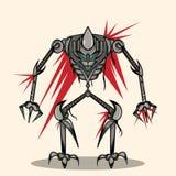 Super War Robot. The Super War Robot Illustration Stock Photo