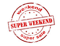 Super weekend Royalty Free Stock Image