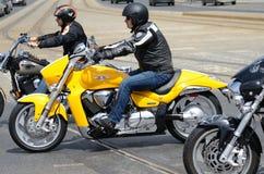 Super wiec - Harley silnika parada Fotografia Stock