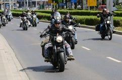 Super wiec - Harley silnika parada Obraz Royalty Free
