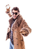Super winter fun Royalty Free Stock Photography
