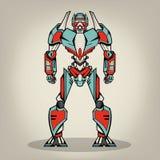 Super Wojenny robot Obrazy Stock