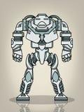 Super Wojenny robot Obraz Royalty Free