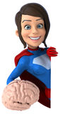 Super woman Royalty Free Stock Images