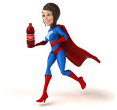 Super woman Stock Image