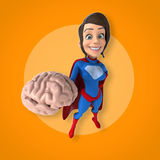 Super woman Royalty Free Stock Photography