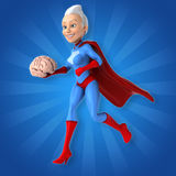 Super woman Stock Photography