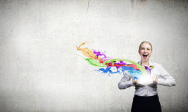 Super woman Royalty Free Stock Photos