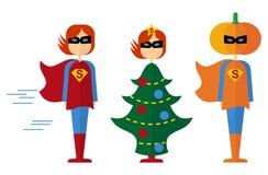 Super_women_holidays Photos stock