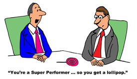 Super Work Performer Stock Image